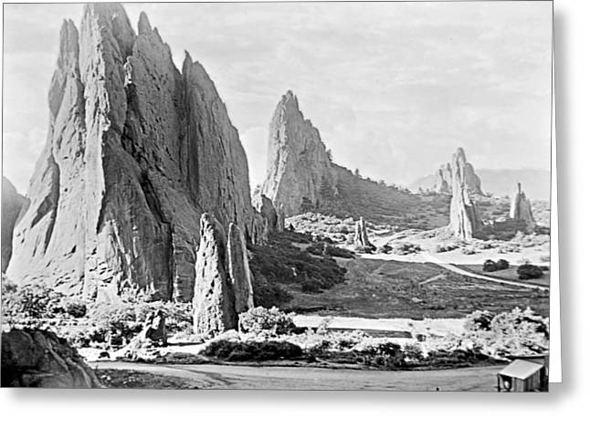 Garden Of The Gods 1915 Greeting Card