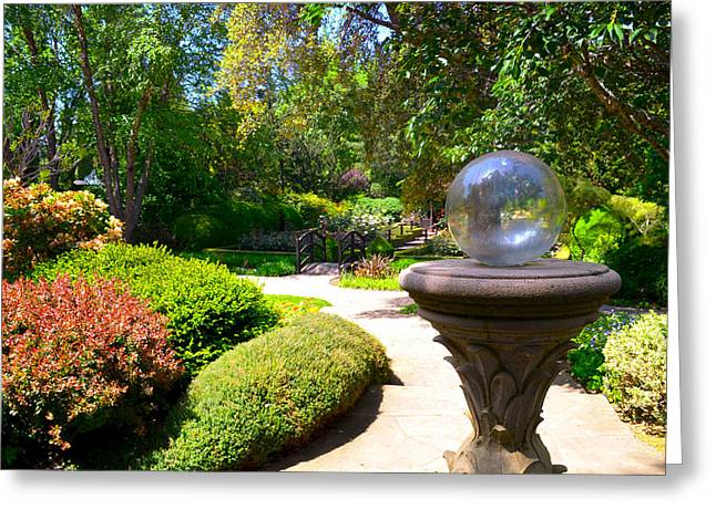 Garden Of Wishes Greeting Card