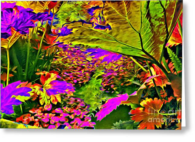 Garden Of Color Greeting Card