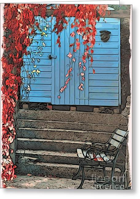 Garden Shed Greeting Card by Paul Stevens