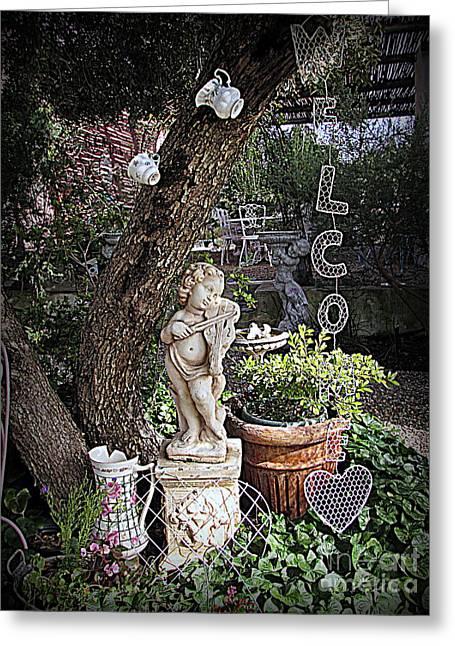 Garden Simphony Greeting Card