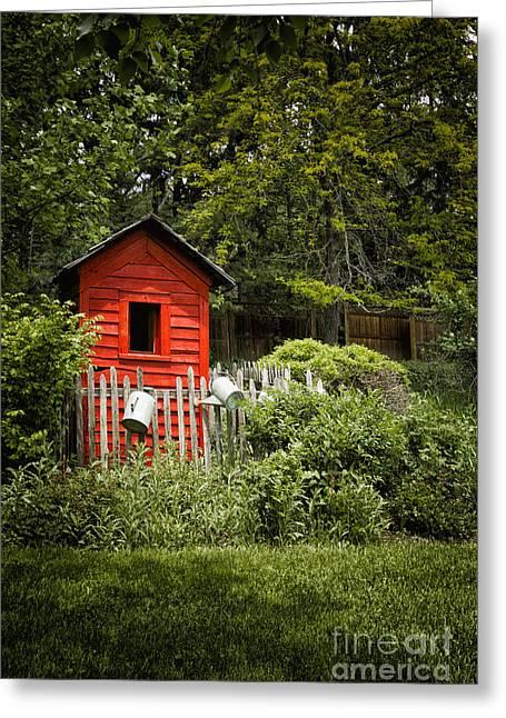 Garden Still Life Greeting Card by Margie Hurwich
