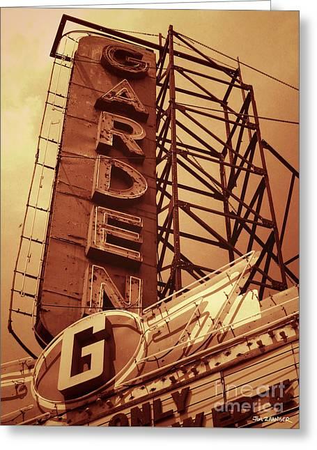Garden Theater Greeting Card
