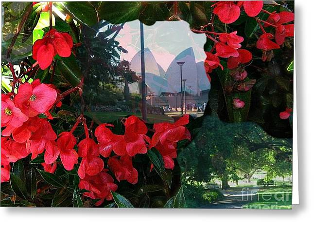 Greeting Card featuring the photograph Garden Whispers by Leanne Seymour