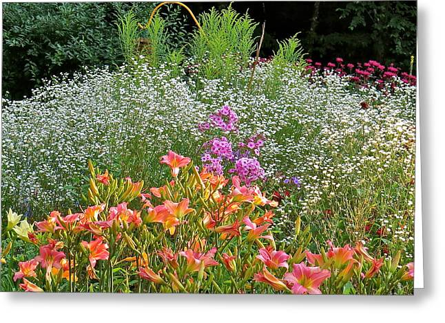 Gardens 101 Greeting Card by Patsy Pratt