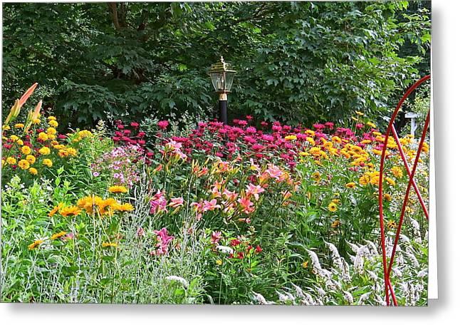 Gardens 109 Greeting Card by Patsy Pratt
