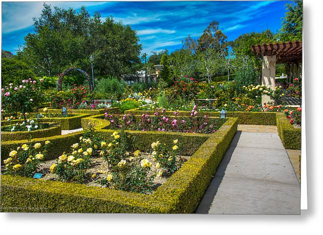 Greeting Card featuring the photograph Gardens Of The World by Ross Henton