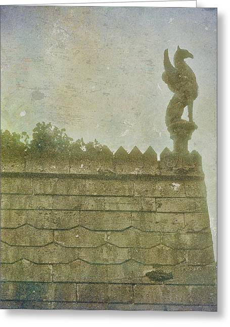 Gargoyle Greeting Card by Kandy Hurley