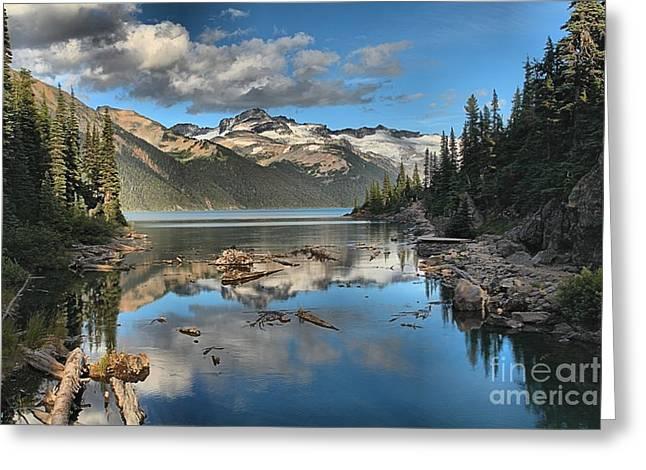 Garibaldi Lake Reflections Greeting Card