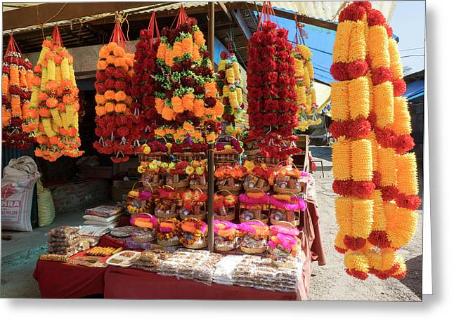 Garlands For Sale Greeting Card