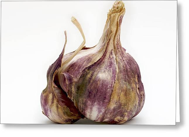 Garlic Glove Greeting Card
