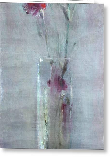 Garofano Per Lei Greeting Card by Ylli Haruni