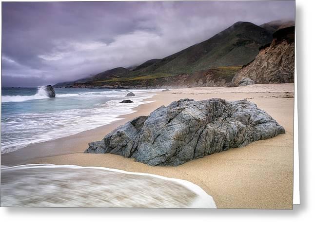 Garrapata Beach Ca Greeting Card