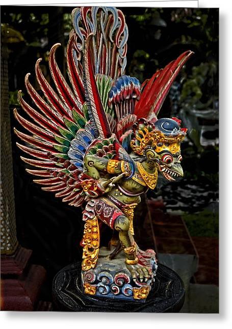 Garuda Greeting Card