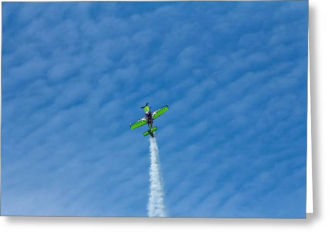 Gary Ward Taking His Mx2 To Great Heights Greeting Card