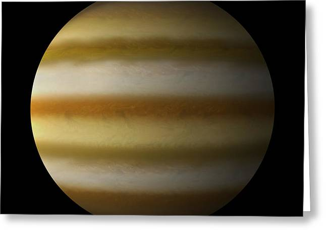 Gas Giant #7 Greeting Card