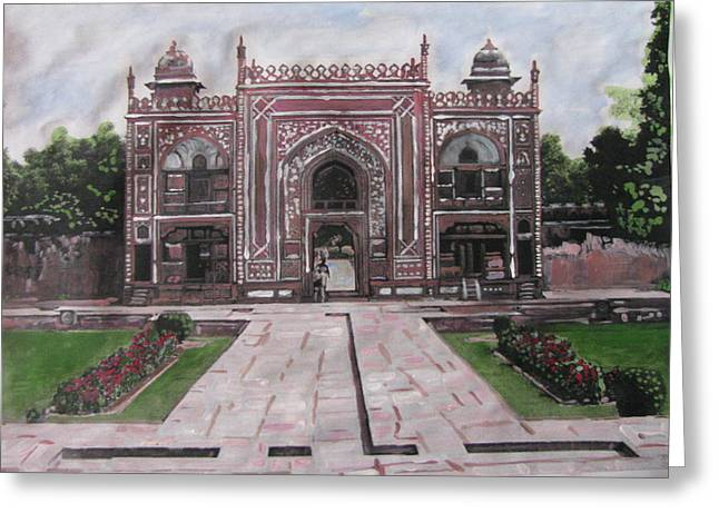 Gate Greeting Card by Vikram Singh