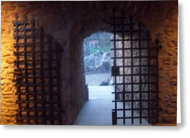 Gateway And Portcullis Greeting Card