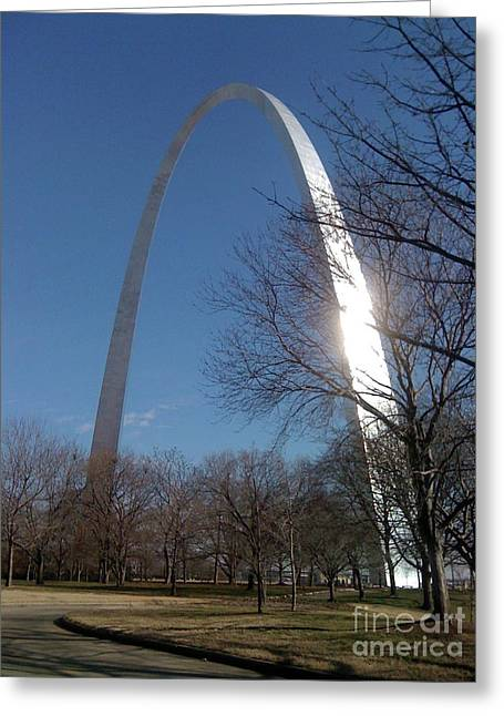 Gateway Arch Brilliance Greeting Card