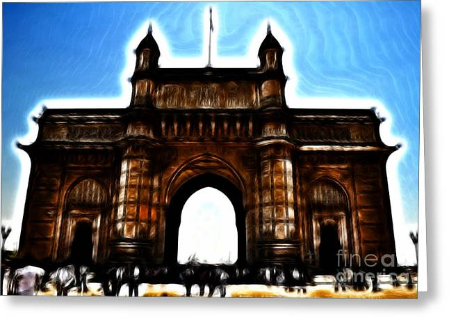 Gateway To Fractalius Greeting Card