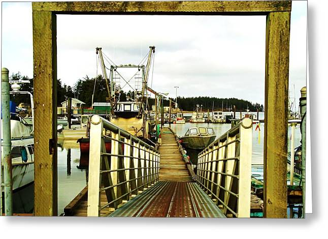 Gateway To Open Water  Greeting Card