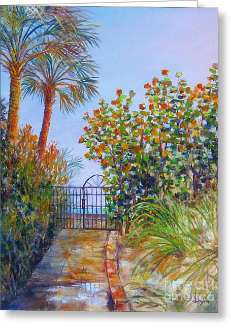 Gateway To Paradise Greeting Card