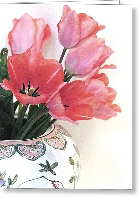 Gathered Tulips Greeting Card