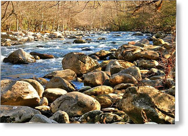 Gatlinberg River Greeting Card