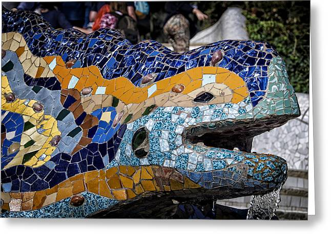 Gaudi Dragon Greeting Card