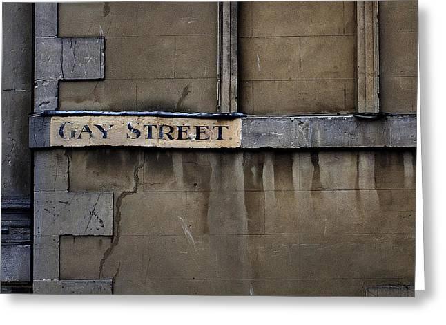 Gay Street Denise Dube Greeting Card
