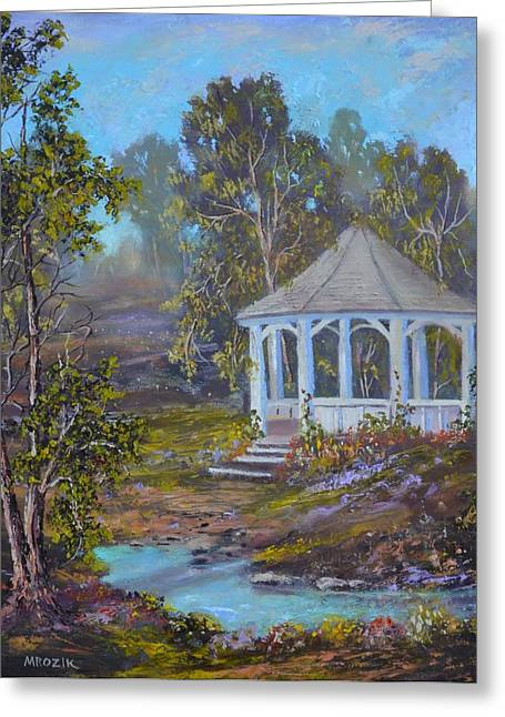 Gazebo And A Dream Greeting Card