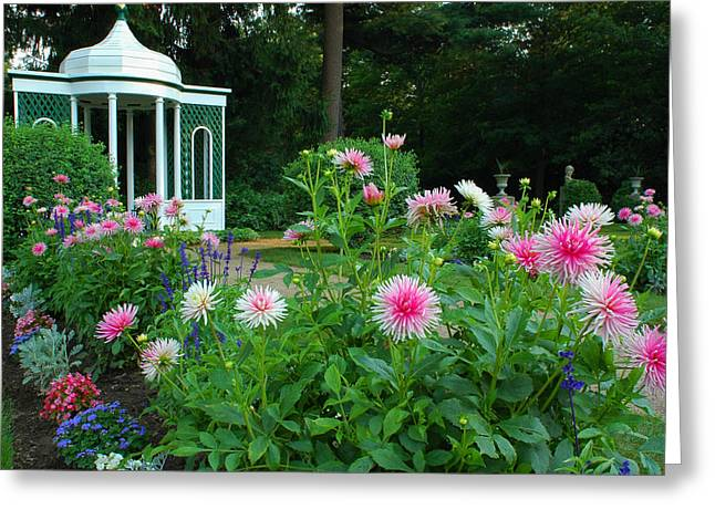 Gazebo Bloom Greeting Card