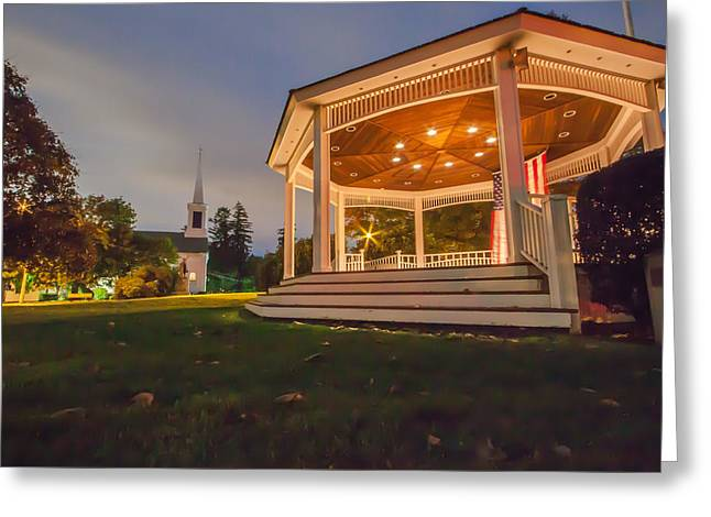 Gazebo Greeting Card by Brian MacLean