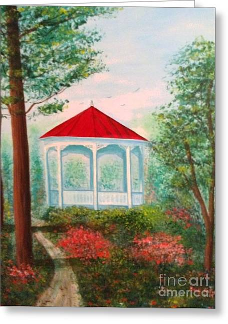 Gazebo Dream Greeting Card
