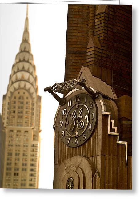 General Electric Building 1 Greeting Card