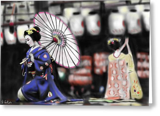 Geisha No.109 Greeting Card