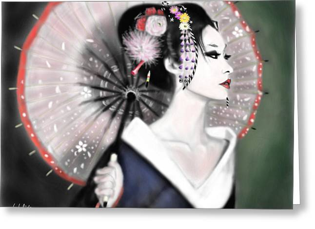 Geisha No.151 Greeting Card