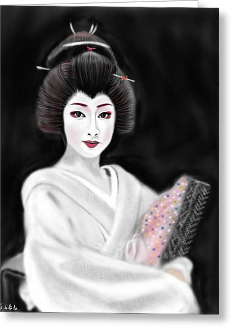 Geisha No.155 Greeting Card
