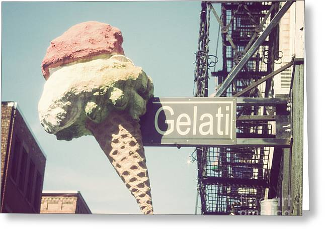 Gelati Greeting Card by Jillian Audrey Photography