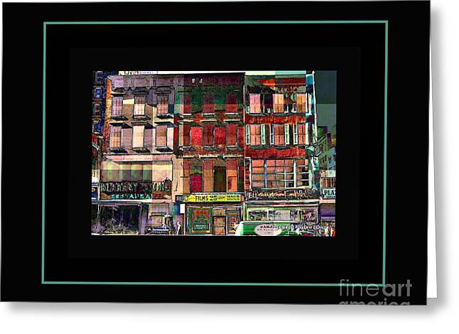Gem Collection - New York In 1975 - Print Or Card Greeting Card by Miriam Danar