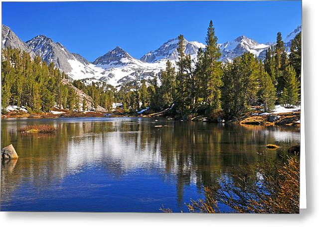 Gem Of The Sierras Greeting Card by Lynn Bauer