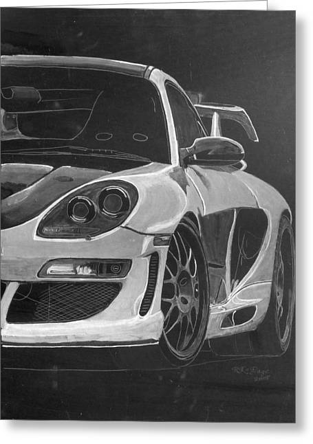 Gemballa Porsche Left Greeting Card