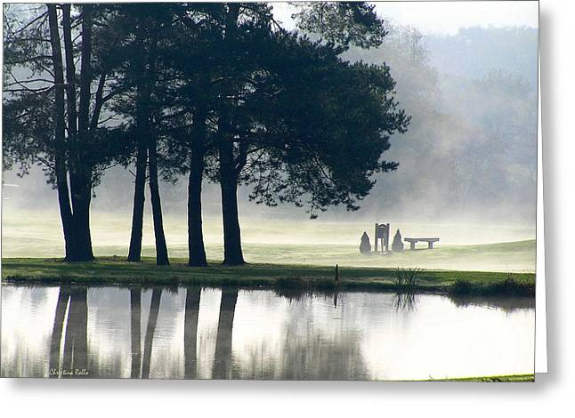 Genegantslet Golf Club Greeting Card by Christina Rollo