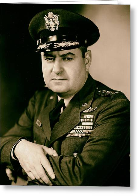 General Curtis Lemay 1950s Greeting Card