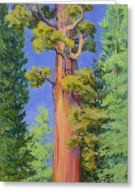 General Grant Tree Greeting Card by Joy Collier