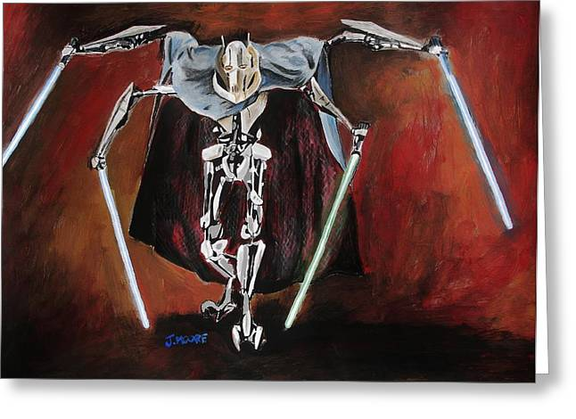 General Grievous Greeting Card