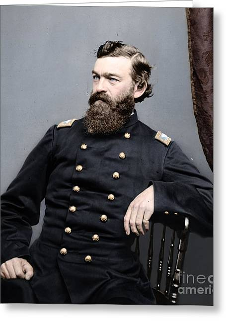 General James S Robinson Greeting Card