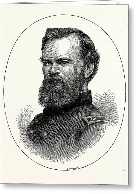 General Mcpherson, He Was A Career United States Army Greeting Card
