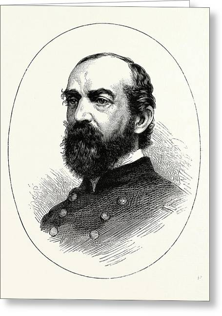 General Meade, He Was A Career United States Army Officer Greeting Card by American School