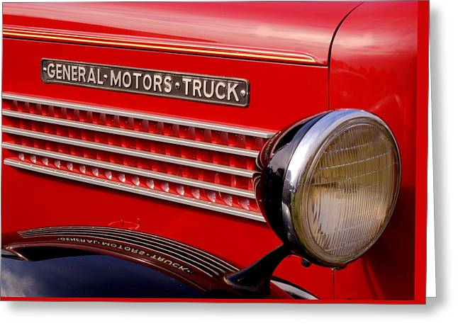 General Motors Truck Greeting Card